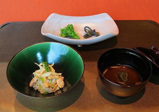 こしあぶら と 浅蜊 と 白魚の御飯 ~ 4月の食事 ~