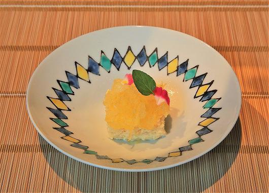 国産レモンのチーズケーキ ~ 6月のデザート ~