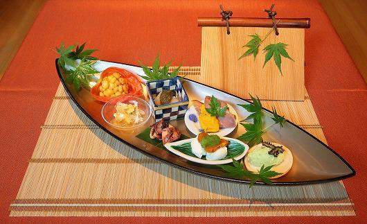 七夕の頃の盛り合せ ~ 7月の前菜 ~