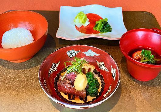 仙台牛の焼きすき ~ 1月の食事 ~