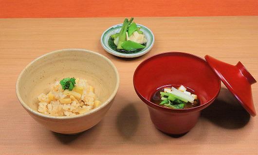 筍ご飯 ~ 4月の食事 ~