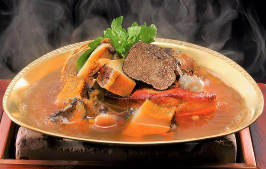 黒鮑とフォアグラの茸スープ炊き ~ 10月の替り吟味特撰 ~