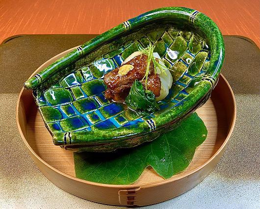 仙台牛の鍬焼き ~ 10月の進肴 ~