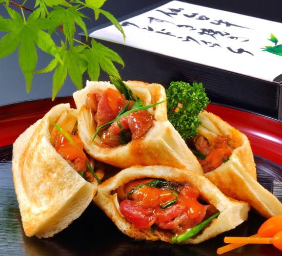 仙台牛すき焼き サンドウィッチ